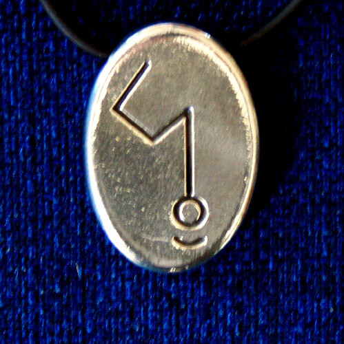 Angela Dicker's Starcode Lead-Free Pewter Auriga Keystone - The Constellation Key of (Independence and Isolating Energy