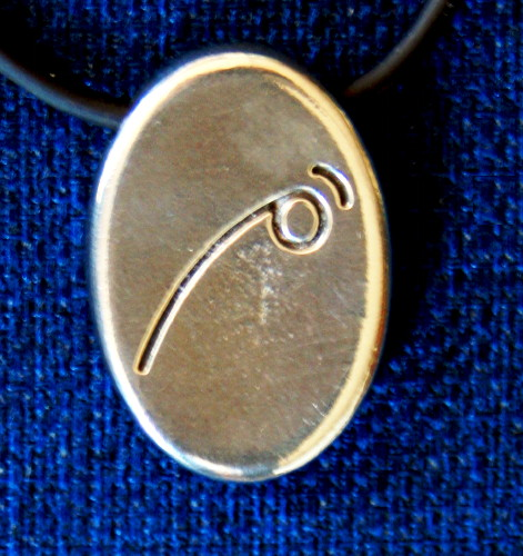 Angela Dicker's Starcode Lead-Free Pewter Auriga Keystone - The Trajectory Key of Motivation and Focusing Energy