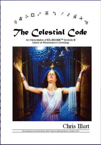 The Celestial Code, a book by Chris Illert, his interpretation, based on Renaissance Cosmology, of Angela Dicker's Starcode symbols